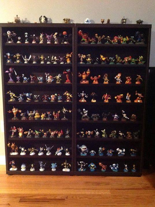 Skylanders Collection Shelf Pokemon Room Kids Storage