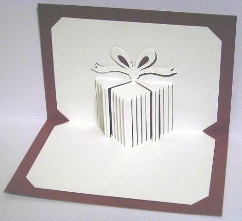 libros pop up books cards como hacer una tarjeta pop up de una caja