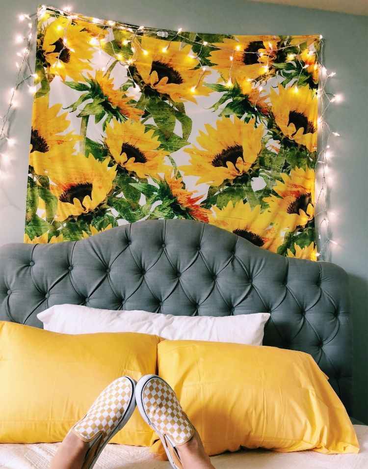 Pinterest Rainbow Siv Aesthetic Room Decor Aesthetic Rooms Room Inspiration #sunflower #curtains #for #living #room