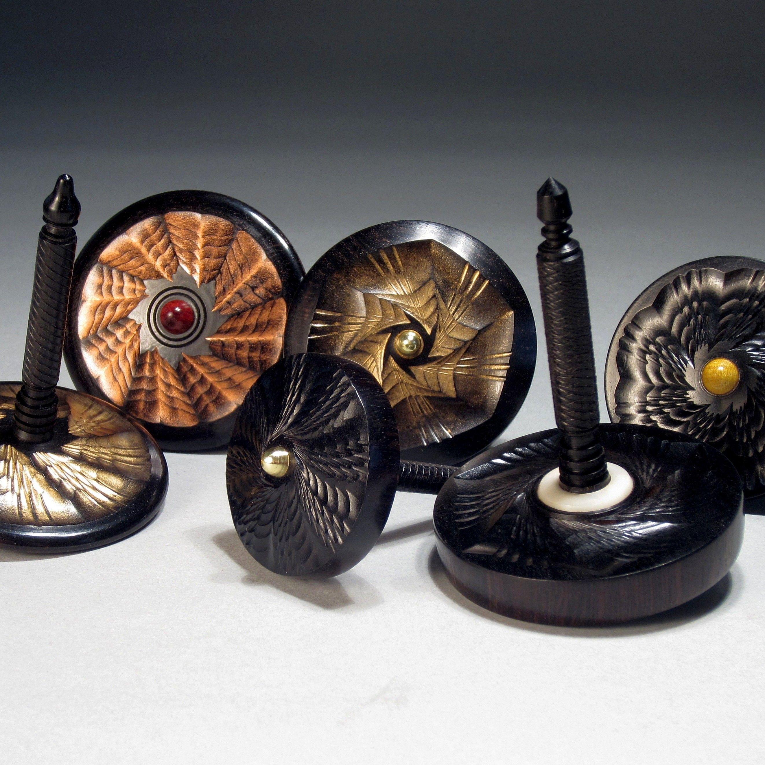 Js rose engine turned spin tops by jon sauer jon sauers js rose engine turned spin tops by jon sauer buycottarizona