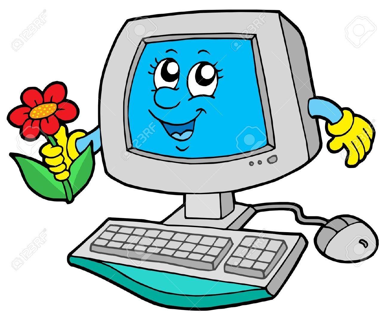 Computer Clipart Cartoon Clipart Collection Computer Cartoon Clip Art Cartoon Clip Art