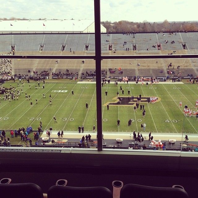 Ross Ade Stadium In West Lafayette In With Images Stadium West Lafayette Lafayette