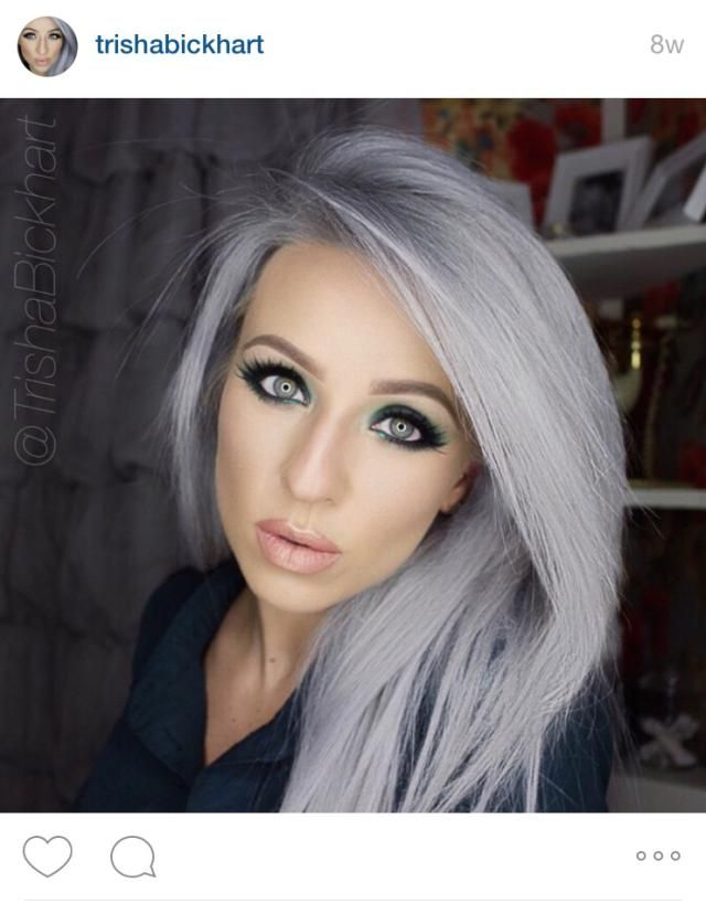 Instagram\'s Best Granny Hair Color | Gray hair, Hair coloring and ...