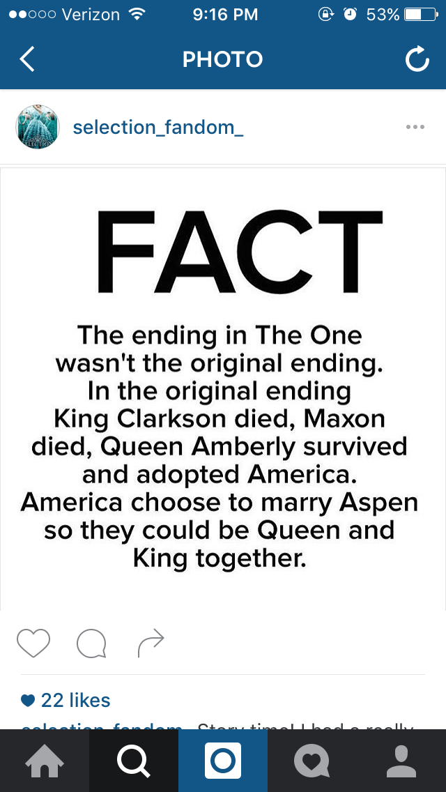 I'm not sure if this is true but i would cry if it was how it really ended