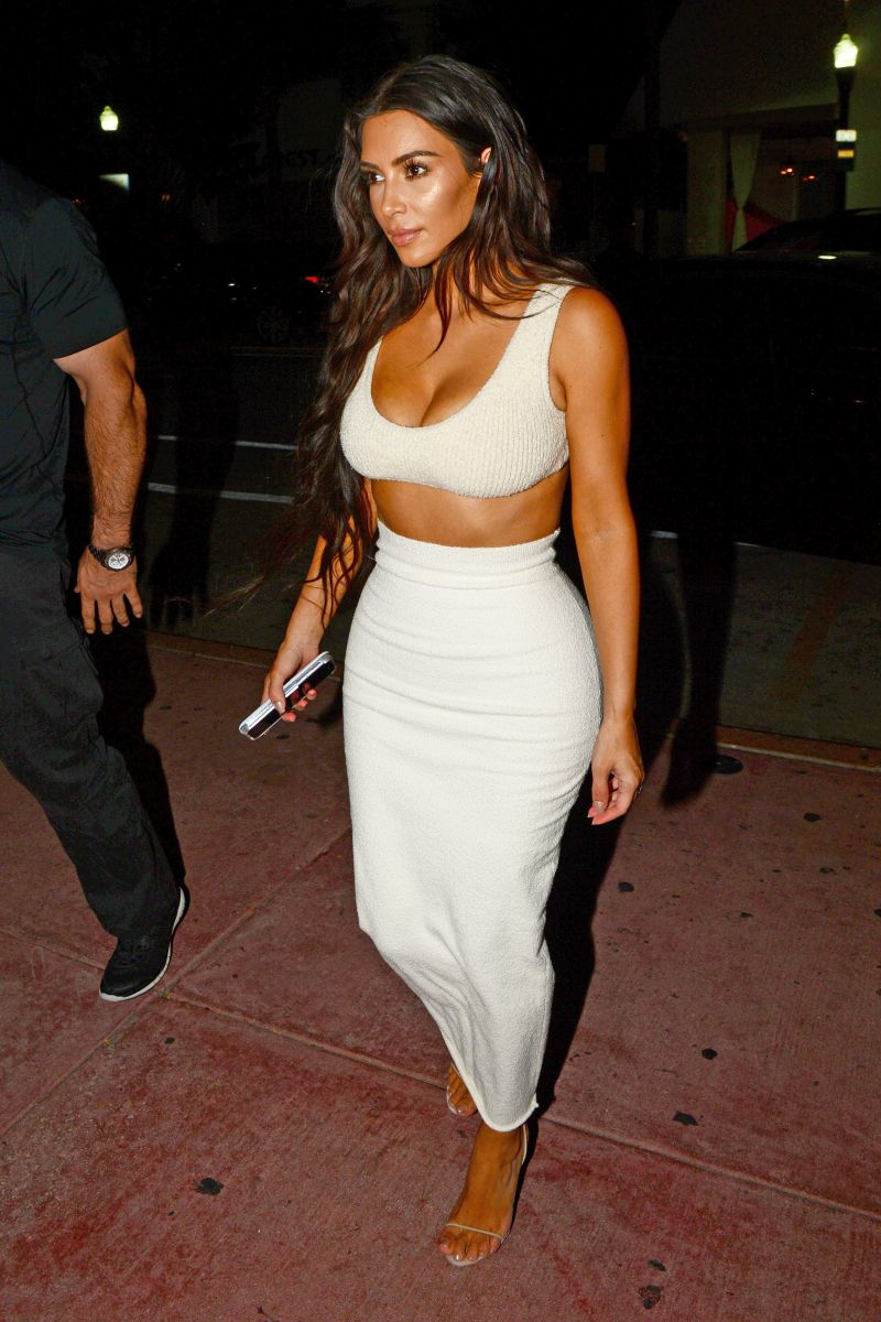 5ebc41b3707b9c Kim Kardashian Looks Surprisingly Covered Up in This Yeezy-Inspired ...