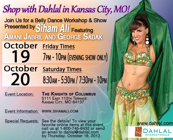 Kansas City, MO ... Here we come! Shop with Dahlal Internationale on October 19-20 at The Knights of Columbus! https://www.dahlal.com/show-schedule