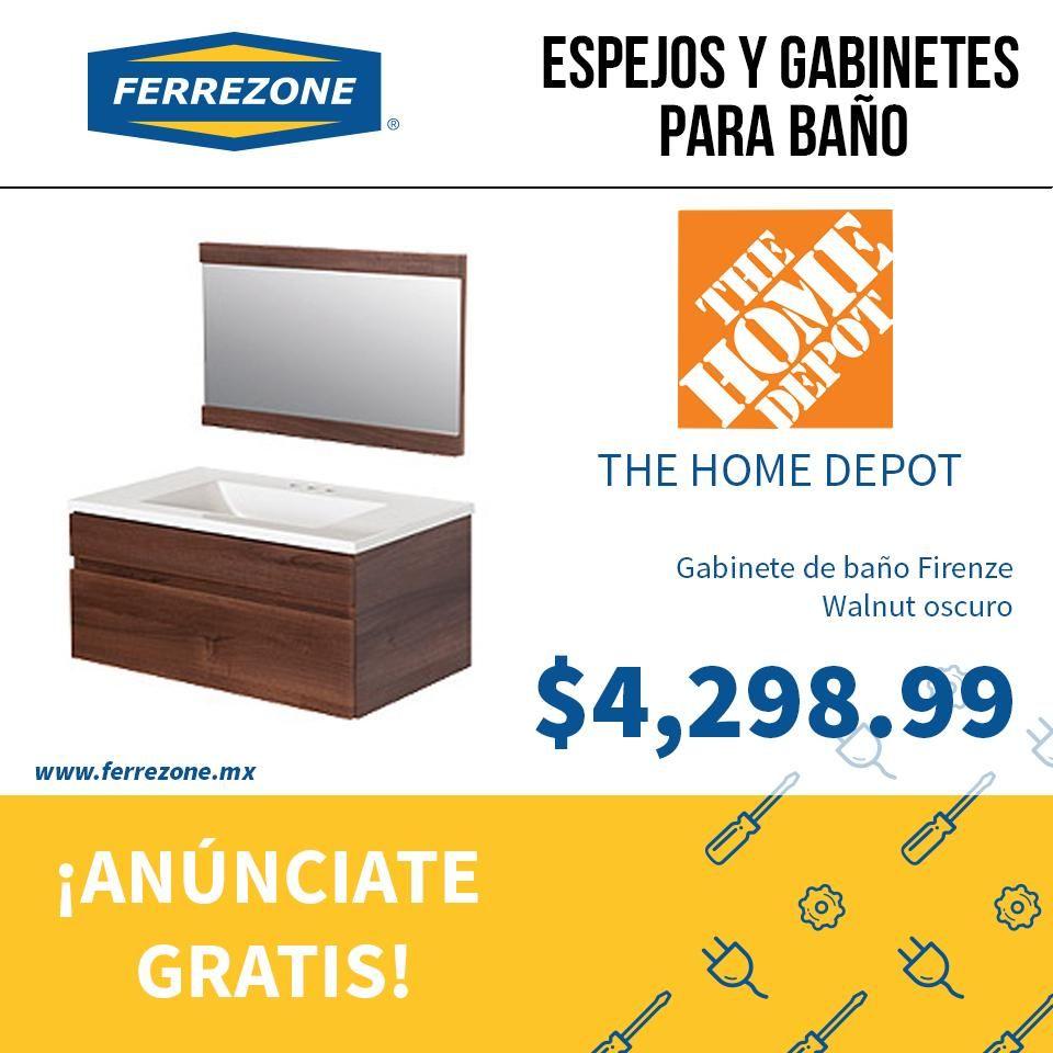 #Plomería #AccesoriosDeBaño #Gabinete #TheHomeDepot ferrezone.mx El mercado ferretero de México Anúnciate gratis