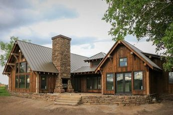 Photo of Rustic Mountain Ranch House Plan