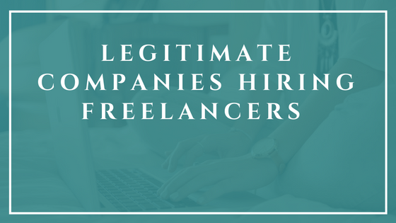 If you're tired of scam work at home sites, then read this article to learn about legitimate companies that hire home workers.