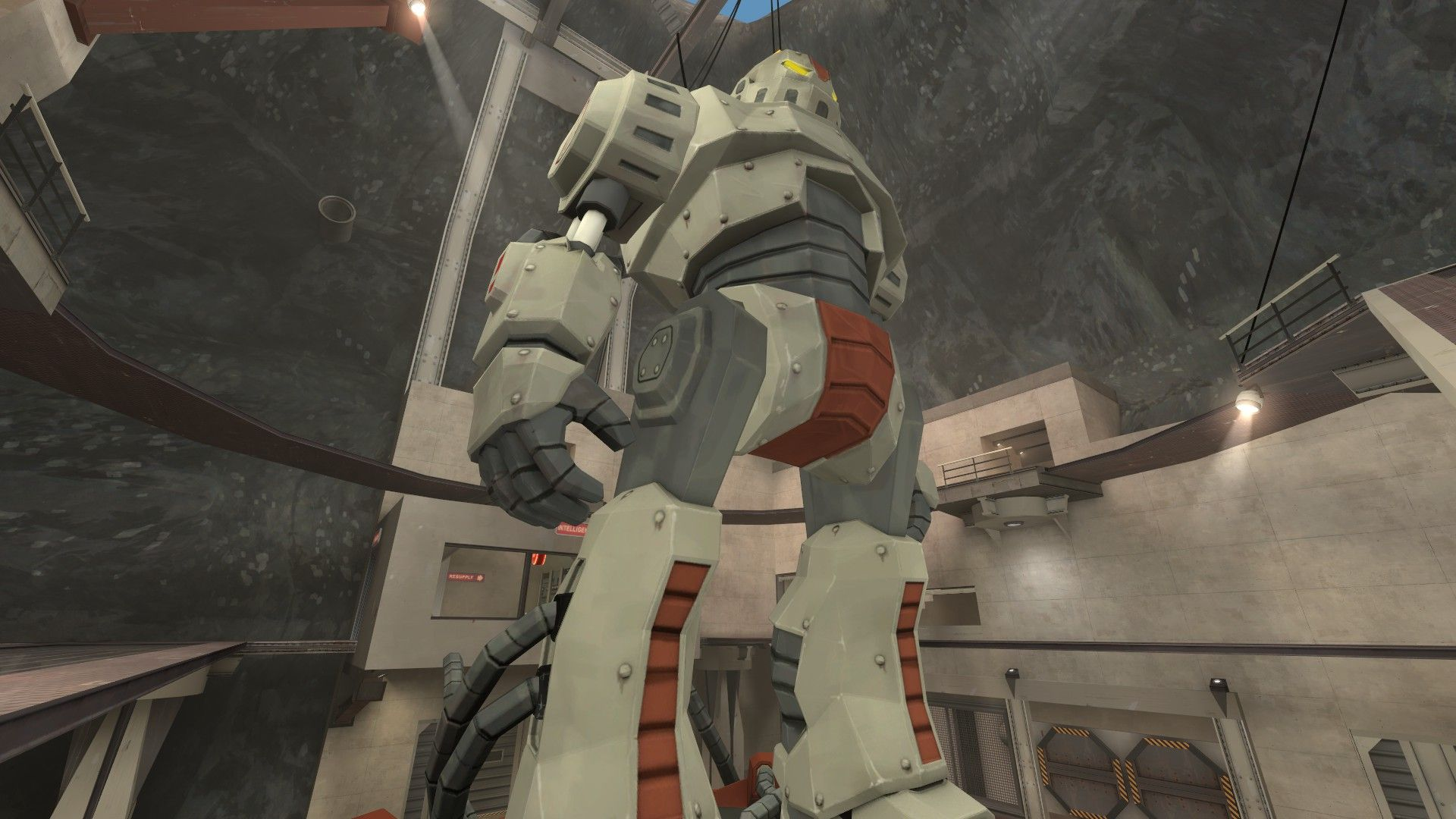 Red team is better because they have a freaking giant robot