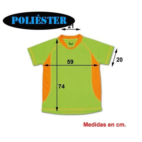 alta moda comprar auténtico muy baratas CAMISETA TÉCNICA DE POLIÉSTER BARATA, 2 COLORES ...