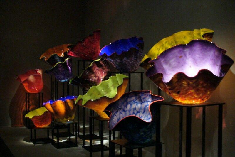 Dale chihulys illuminations exhibit okc moa artwork