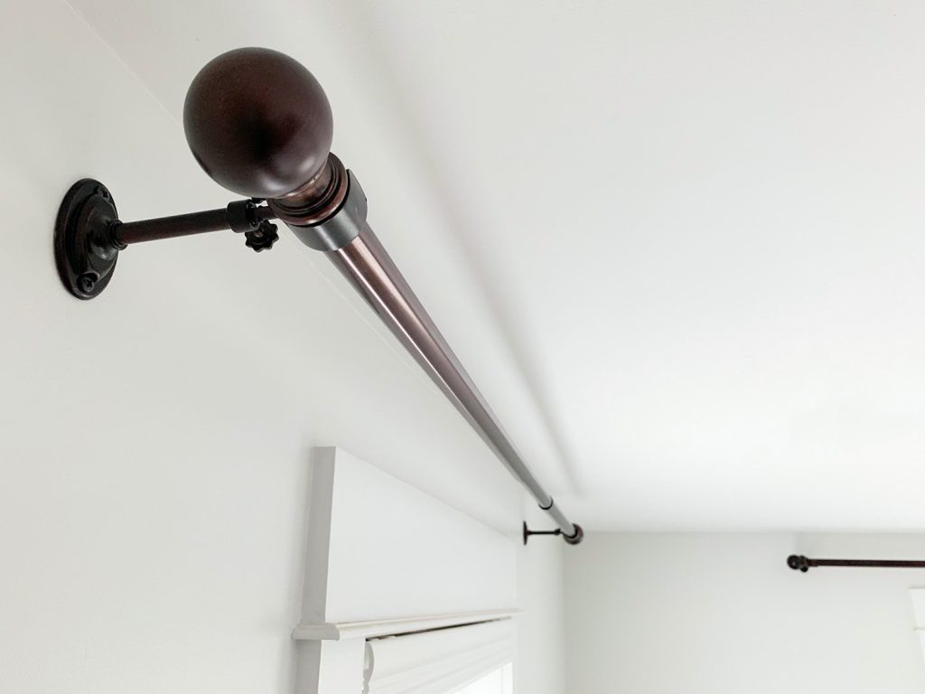 A Quick Easy Way To Hang Curtain Rods Young House Love