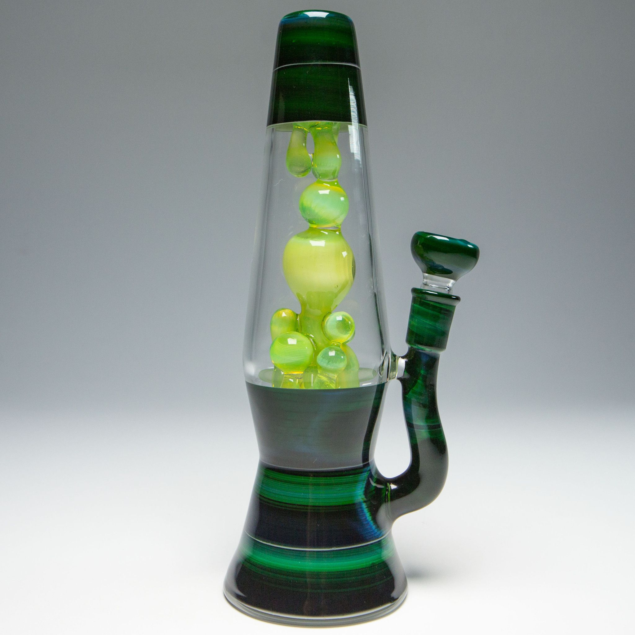Blue Grass Glass Lava Lamp - Vapor Tube – The Cave | Glass ...