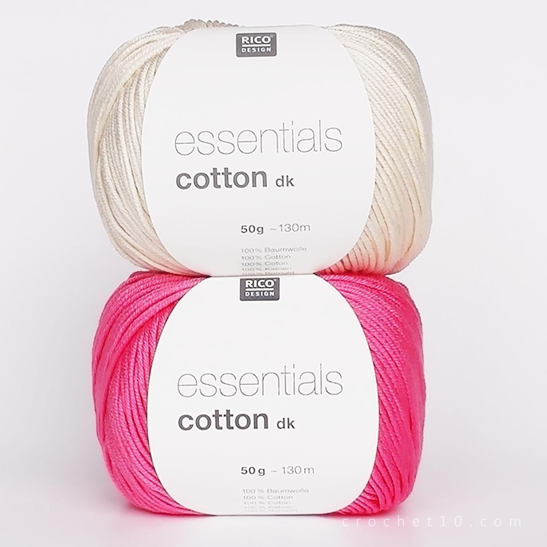 RICO Essentials Cotton DK | Seco, Composición y Lavar