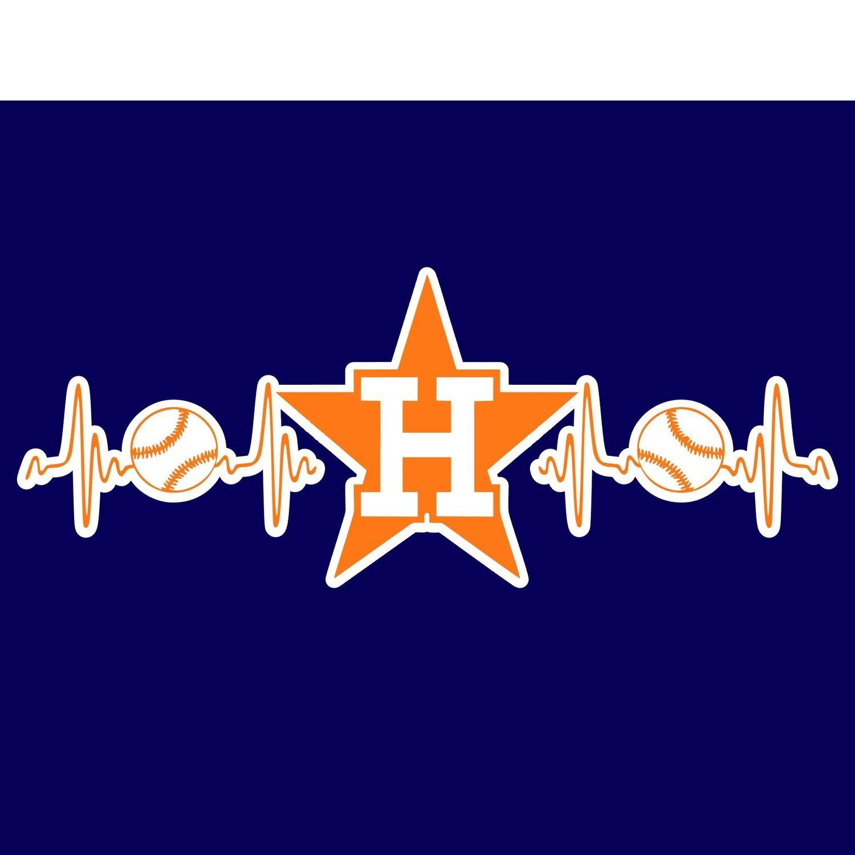 Download Astros Heartbeat (SVG, JPG, Digital Download) Please view ...