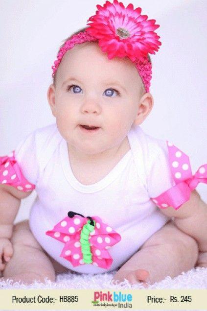 Magenta Pink Stylish Princess Crochet Flower Hair Accessory For