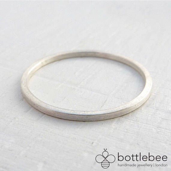 Thin Sterling Silver Wedding Band Thin Sterling Silver Etsy Sterling Silver Wedding Rings Sterling Silver Wedding Band Thin Wedding Ring