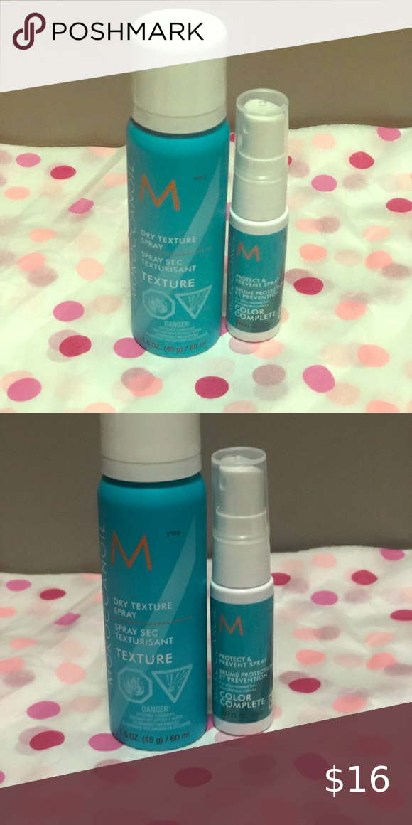 Moroccanoil oil 2 piece set brand new never used in 2020