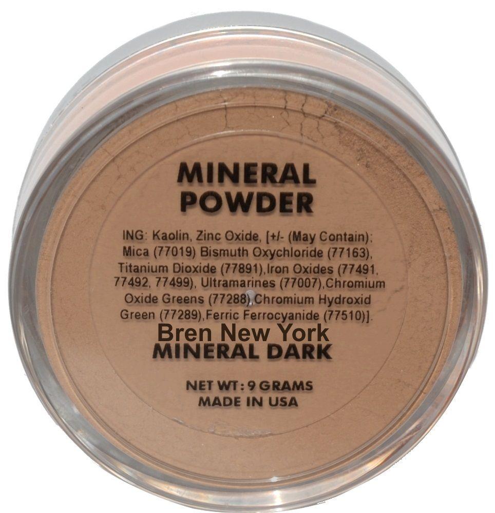 Mineral Dark Loose Foundation Powder Paraben Free