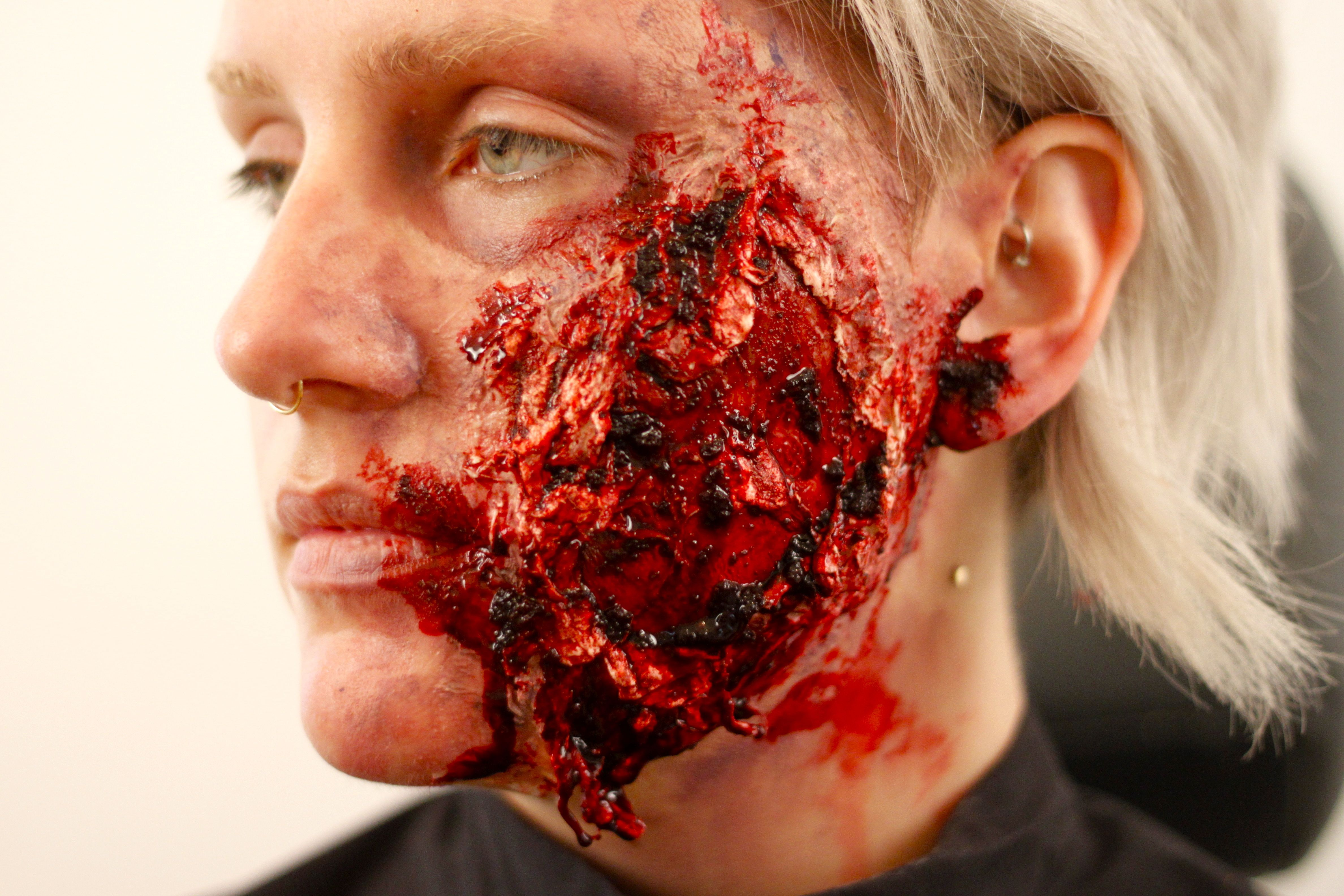 How to Make a Fake Wound Recipe Halloween Inspiration