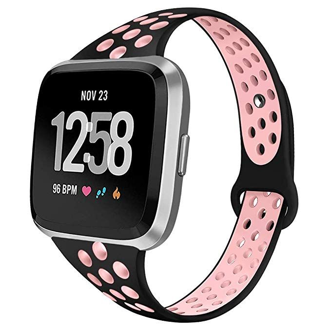 Band For Fitbit Versa Lite /& Special Edition,Soft Silicone Strap Sport Wristband