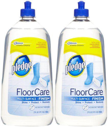 Pledge Floorcare Multi Surface Finish 27 Oz 2 Pk With Images