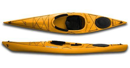 Current Designs Kestrel 120 Roto Kayak - Speckled Yellow- Alpine Shop Ltd