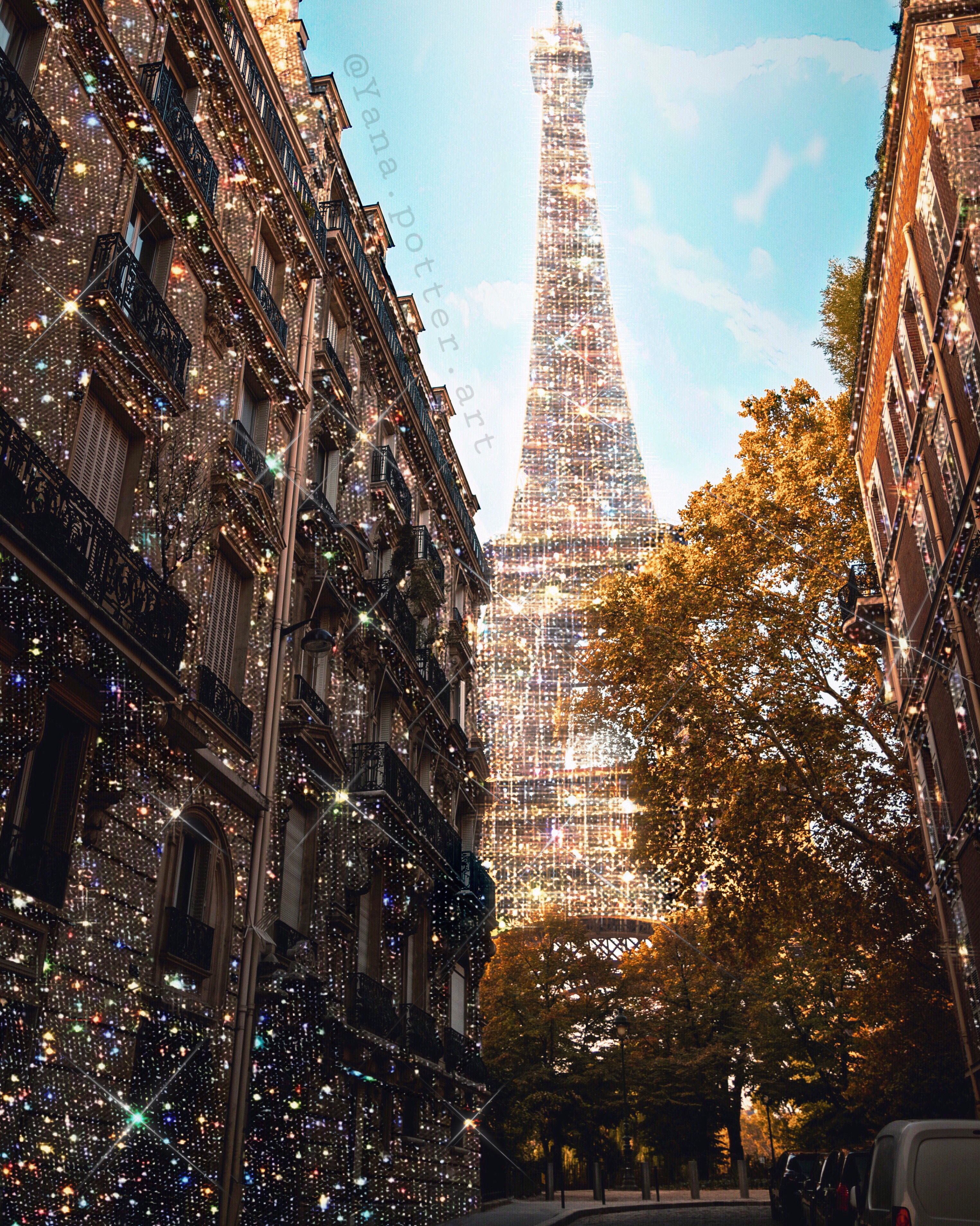 Paris Aesthetic Backgrounds Glitter Photography Aesthetic Pictures
