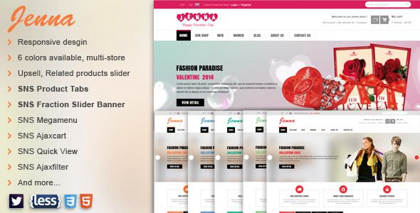 Deals SNS Zenna - Responsive Multipurpose Magento Themein each seller & make purchase online for cheap. Choose the best price and best promotion as you thing Secure Checkout you can trust Buy best