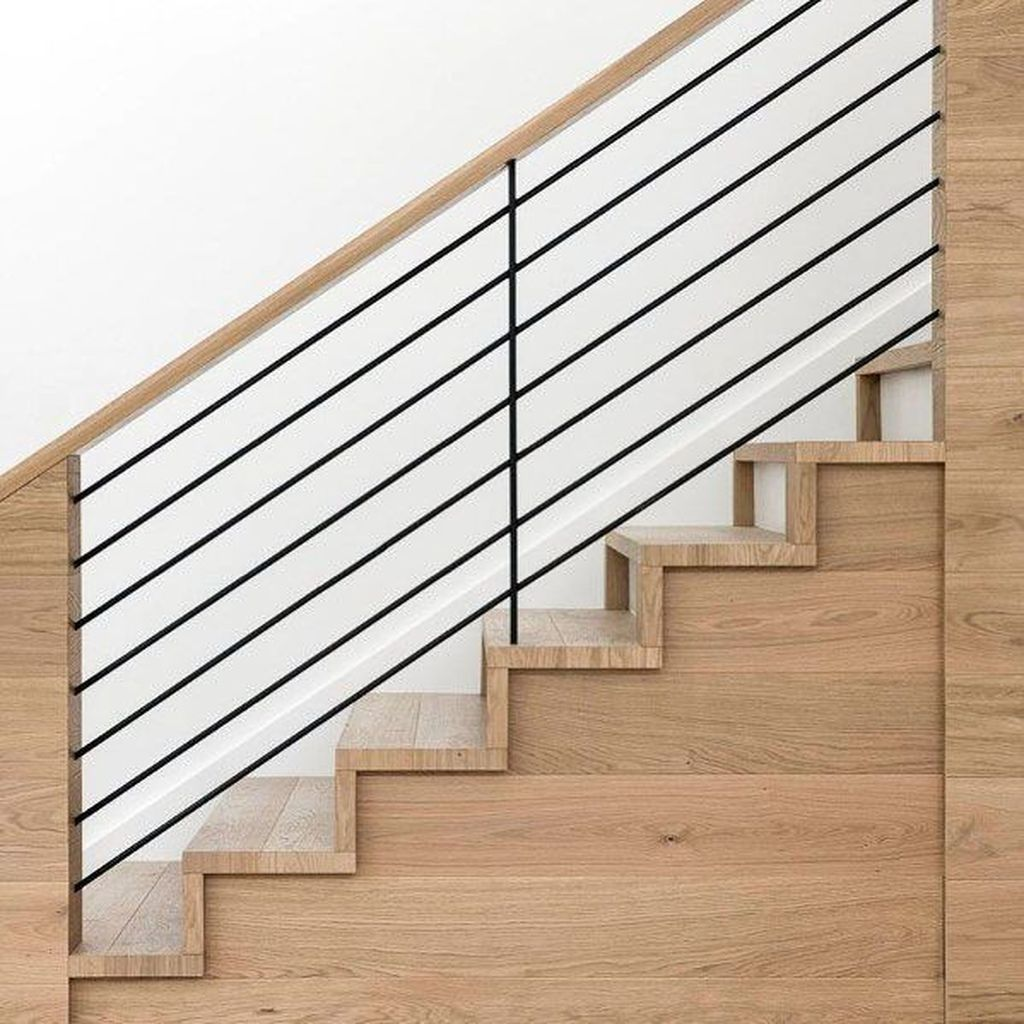 Unique Indoor Wood Stairs Design Ideas You Never Seen