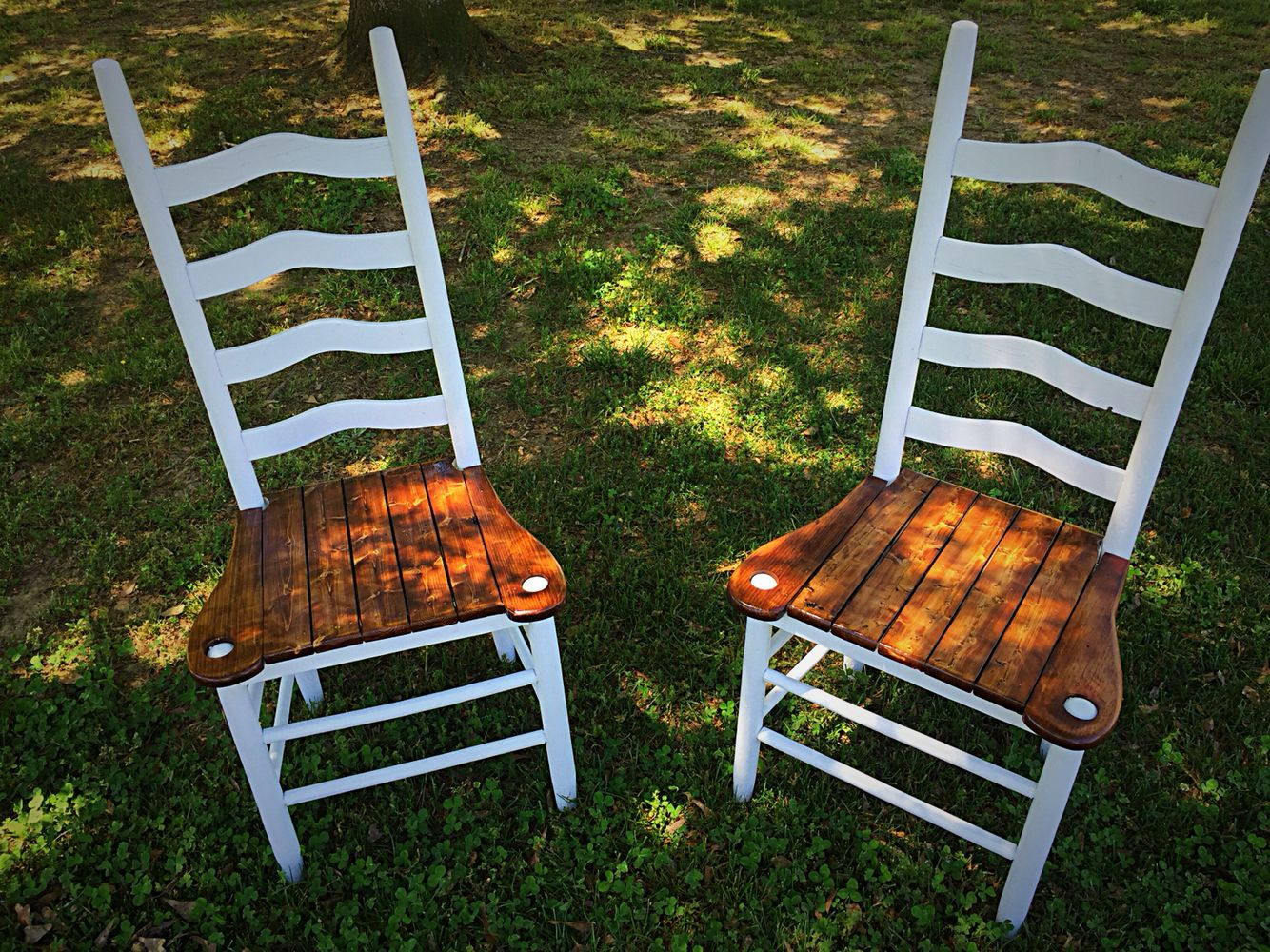Farmhouse chairs by vintage southern creations farmhouse