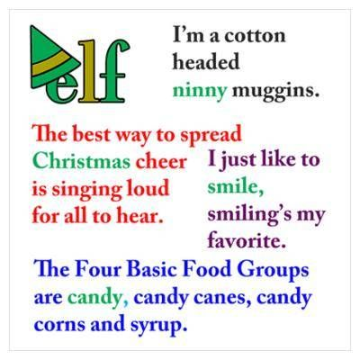 Quotes From Elf Fascinating Elf The Movie Quotes  Because It's Funny  Pinterest  Elves Movie .