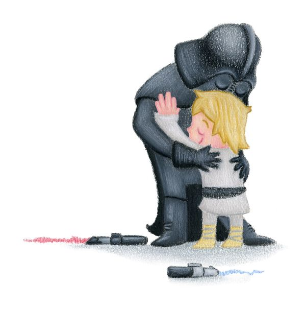Happy Father's Day!  Star Wars style
