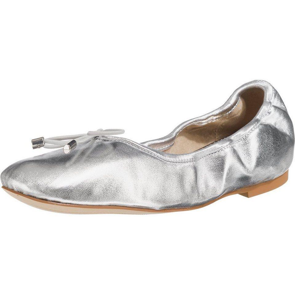 UNÜTZER Faltbare Ballerinas 8292 Veloursleder