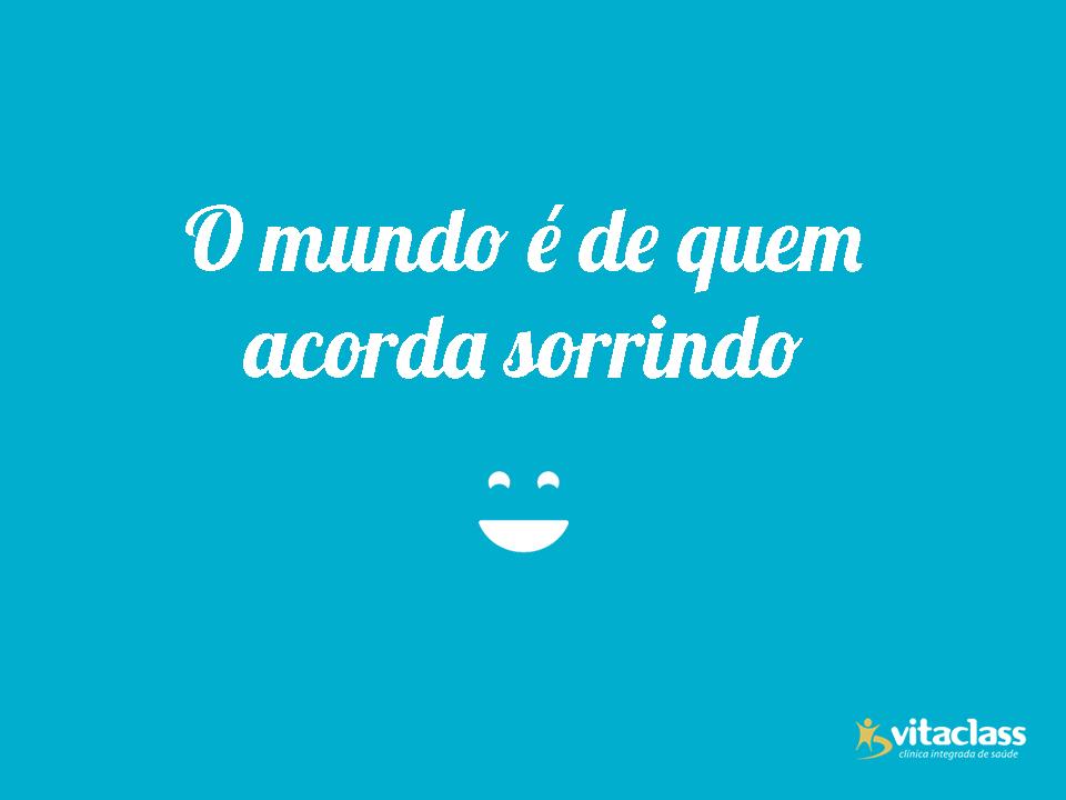 Conhece alguém que já acorda sorrindo? Conta pra gente. =) #BomDia