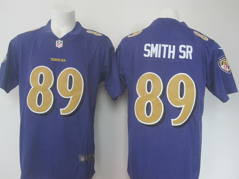 4d84059c1 ... sweden baltimore ravens 89 smith sr purple color rush jersey 2a26b  2ebcd ...