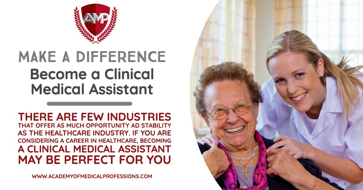 We offer a Clinical Medical Assistant program! A Clinical