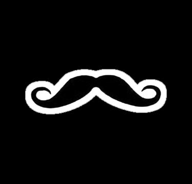 Moustache By Joealjim Moustache Cute Stickers Computer Sticker
