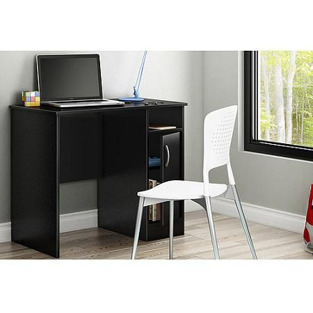 South Shore Smart Basics Small Work Desk Multiple Finishes