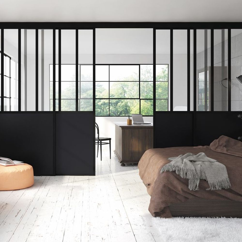 porte coulissante 5 id es pour l 39 adopter elle. Black Bedroom Furniture Sets. Home Design Ideas