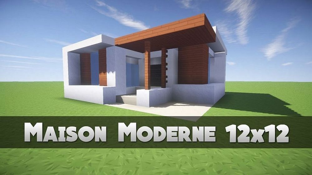 One Story House Plans With Basement And Wrap Around Porch With Small House Interior Design Wi Minecraft Modern Minecraft Houses Blueprints Basement House Plans