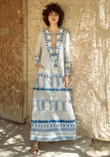 Samuelle Dress Blue