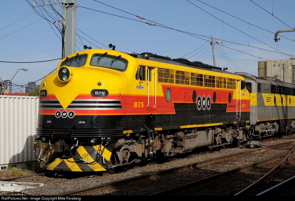 B75 in CRL livery. Colourful, but that's all you can say