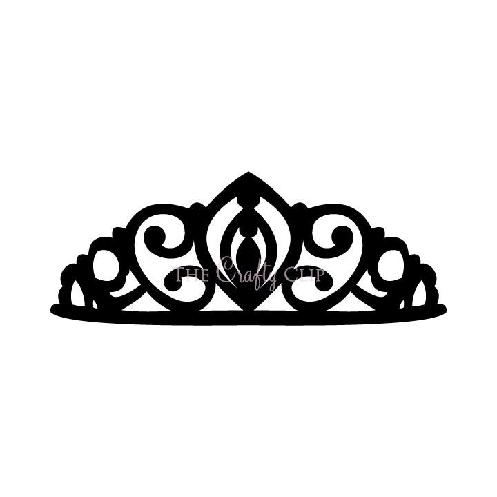 crown tiara house clip art black and white with triforce in center rh pinterest ie clip art tiara tuesday tiara clipart black and white