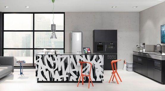 Cuisine » Cuisine Blanc Noire Inox - 1000+ Idées sur la décoration ...