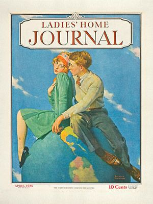 April 1928-Youth orientation seen in beginnings of advice columns directed at girls