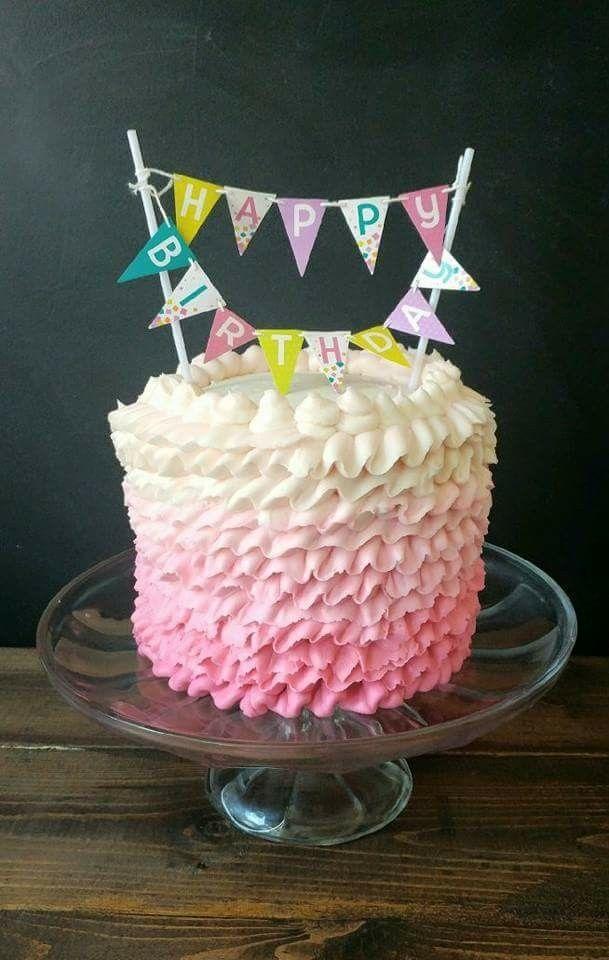 Ruffle Birthday Cake Pans Cakes Happy