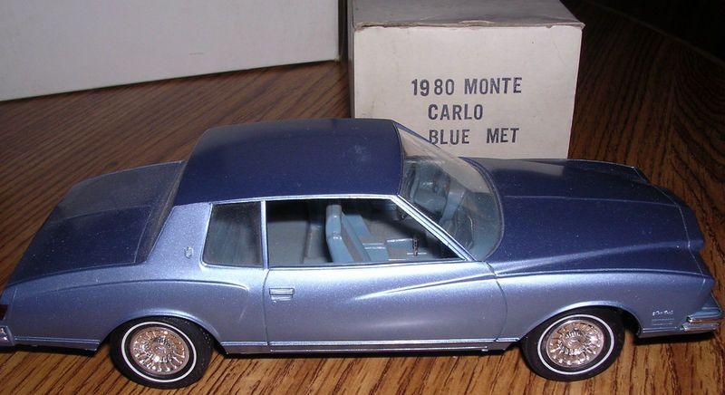1980 Chevy Monte Carlo Promo Model Chevy Monte Carlo Monte