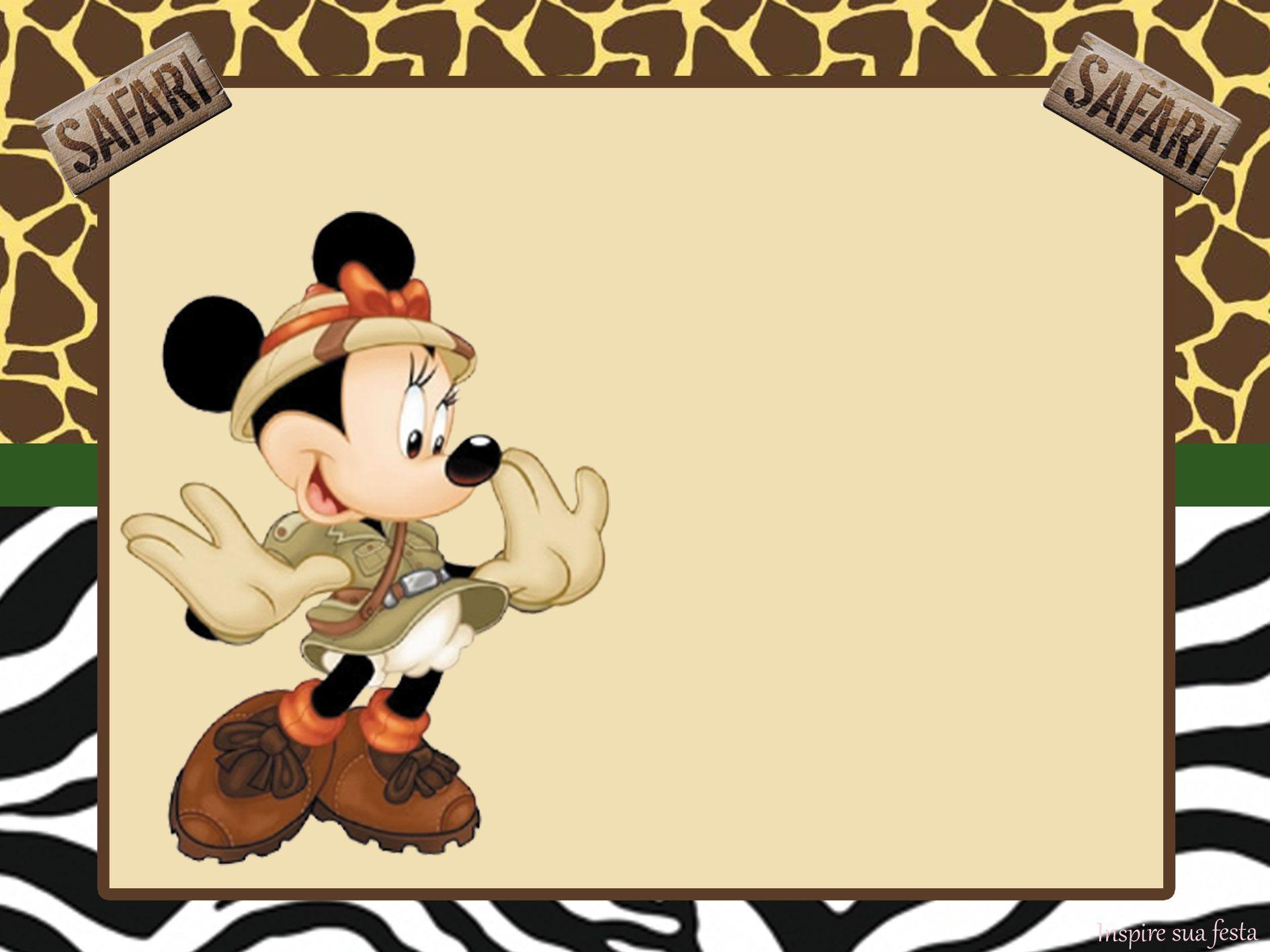 97b60efbeb9e7 Disney Printables · http   inspiresuafesta.com mickey-e-minnie-safari-